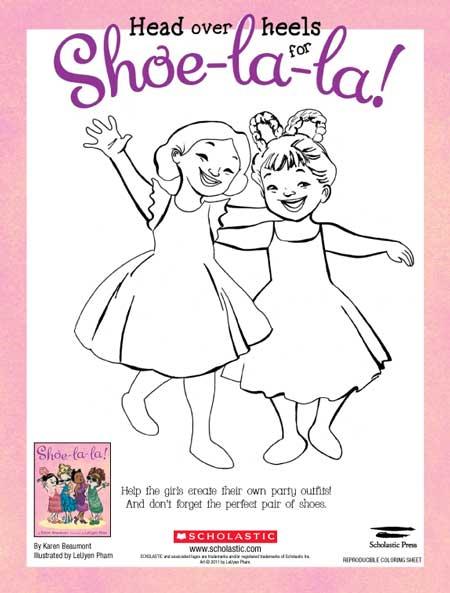 Shoe Coloring 1