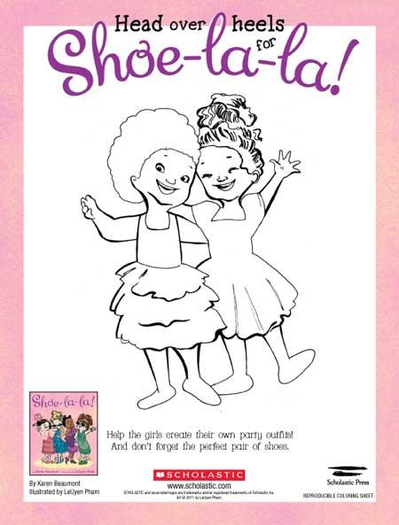 Shoe coloring 2